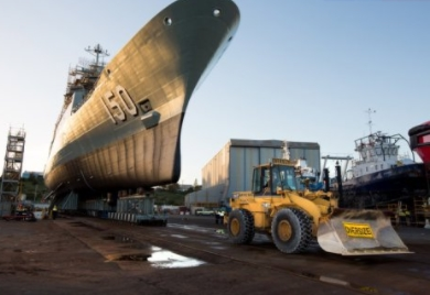 $1.2 Billion Anzac Sustainment Contract Secures Jobs
