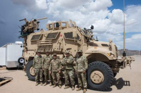 'Greywolf' Brigade Tests Army's First Electronic Warfare Tactical Vehicle