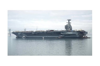 'Shock Trials' Argument Latest Snag in $13B Saga of Ford Class Aircraft Carrier