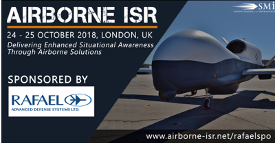 Rafael Interview with Zvi Yavin, Head of ISR Systems released for the Airborne ISR 2018 conference