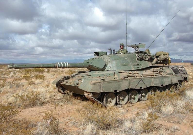 A Farewell to the Leopard 1 Main Battle Tank