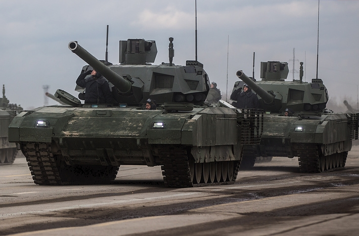 Armata Tank Field Trials Proceed On Schedule