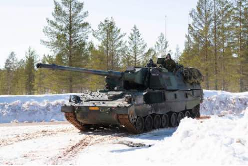 Armored Howitzer and CV90 to Be Modernized