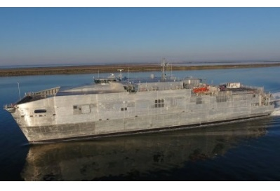 Austal Delivers Second Expeditionary Fast Transport (EPF) to U.S. Navy In 2017