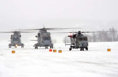 Aviators Put Seal on 'Pioneering' Arctic Training