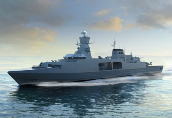 BAE Systems Showcases Type 31e Design to International Audiences at DIMDEX 2018