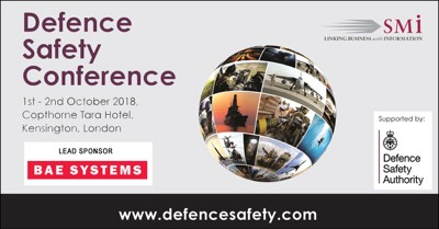 BAE Systems Sign Up as Lead Sponsor of the Defence Safety Conference