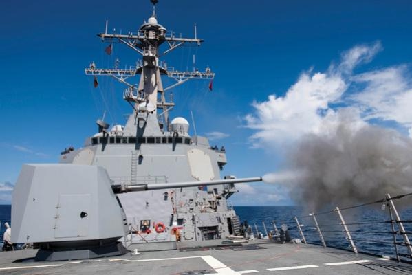 BAE Systems to Provide U.S. Navy with Modernized Mk 45 Guns