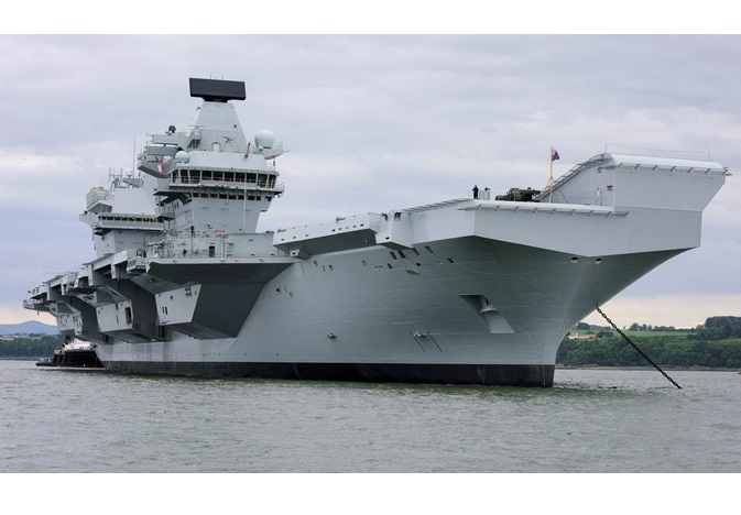 BAE Systems to Support the UK's New Aircraft Carriers