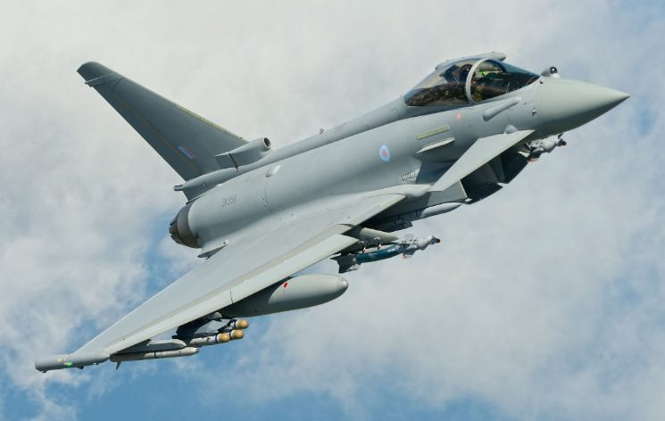 Baldwin: Typhoon is World's Most Powerful and Reliable Swing-Role Combat Aircraft