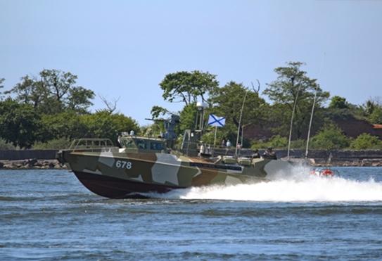 Baltic Fleet Receives a New Patrol Boat
