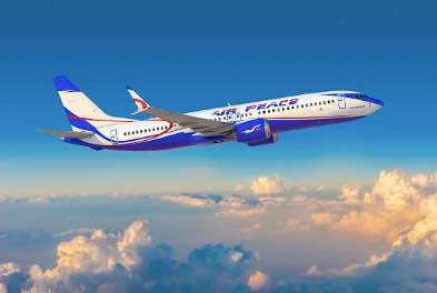 Boeing, Air Peace Announce Order for 10 737 MAX Airplanes