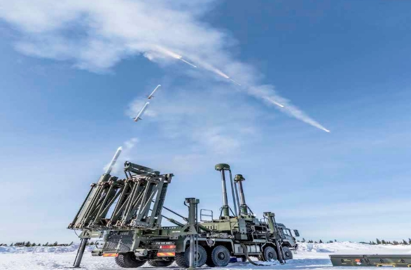 British Army's New Air Defence Missile Blasts Airborne Target by Baltic Sea