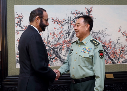 China, UAE Vow to Boost Military Ties