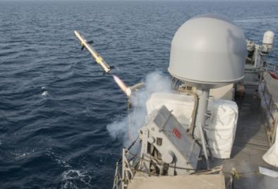 Coastal Patrol Ships Conduct Test Fire of Griffin Missile System in Arabian Gulf