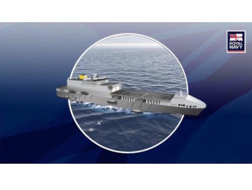 Defence Secretary Reveals Future Assault Ship Plan