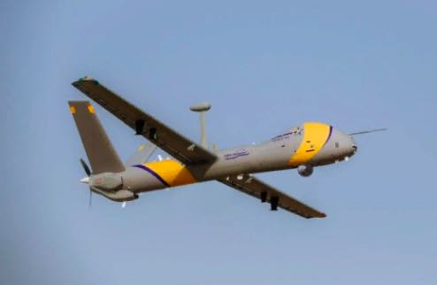 Elbit Systems Rolls Out Hermes 900 StarLiner, a New Unmanned Aircraft Capable of Operating in Civilian Airspace