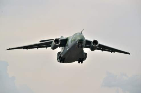 Embraer Successfully Performs First Flight of the Series Production KC-390 Multi-mission Airlift