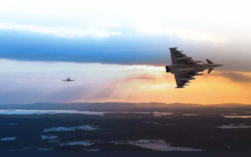 Eurofighter Takes Off for the Finnish Air Force's Series of Flight Evaluation Trials