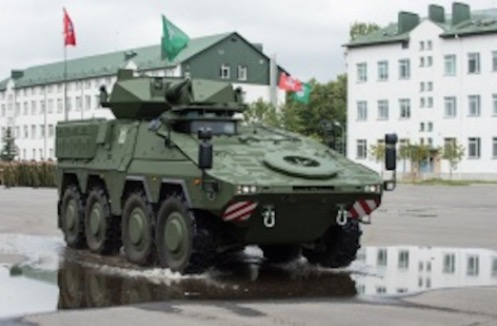 First Vilkas Infantry Fighting Vehicles Officially Handed Over to Lithuania