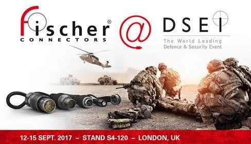Fischer Connectors at DSEI: making advances in miniaturization, performance and data transfer with MiniMax USB 3.0 and UltiMate Power solutions