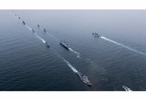 Fleet Review Underscores S. Korea's Quest for Blue-Water Navy