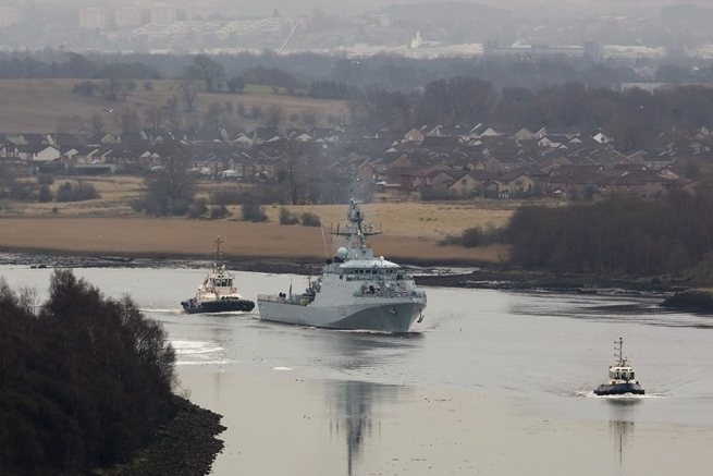 Forth Sets Sail for Home Port