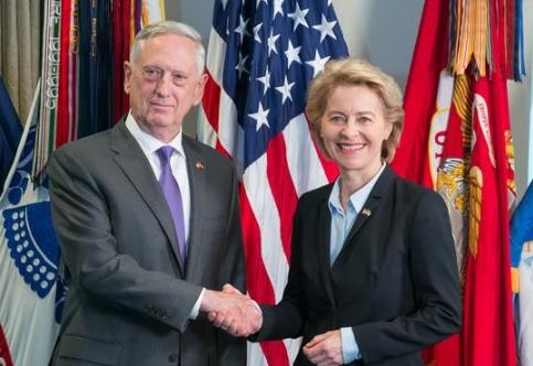 German Defense Minister Ursula Von Der Leyen Promises US Significant Defense Budget Increase
