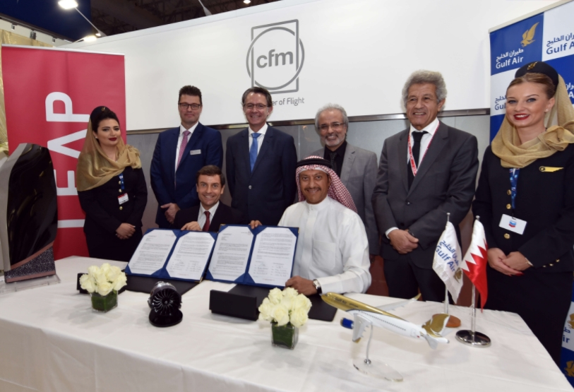 Gulf Air, CFM Sign a $1.9 Billion LEAP-1A Engine & Services Deal