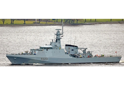 HMS Medway Handed Over as HMS Forth Readies for Sea