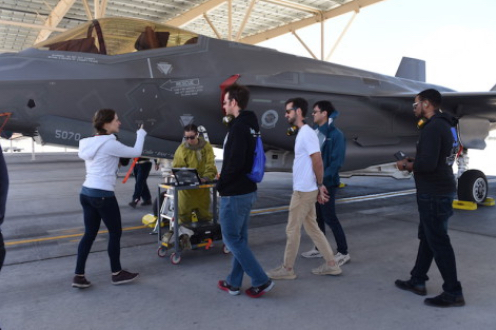 Hanscom AFB Software Teams Decode F-35 Maintenance