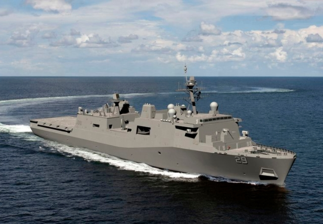 Huntington Ingalls Industries Awarded $1.43 Billion Contract for the Construction of LPD 29