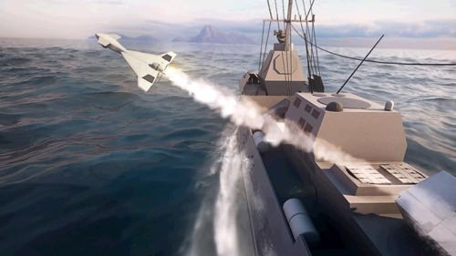 IAI unveils the Maritime Harop:  Operational Loitering Munition for Naval Applications