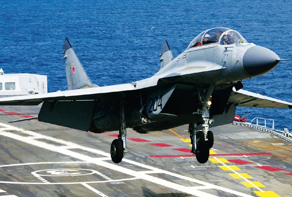 Indian Navy Wants Its Only Fighter Aircraft to Toughen Up