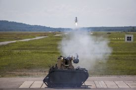 Joint Venture Team Remotely Launches Javelin Missiles From Unmanned Vehicle