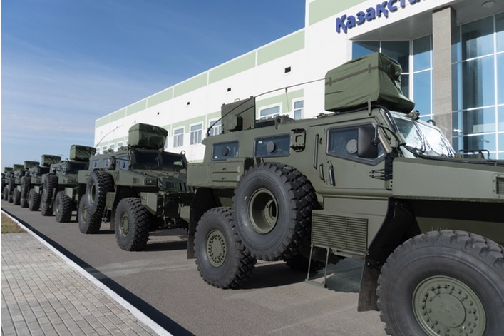 Kazakhstan Paramount Engineering (KPE) Delivers New Batch of Armoured Vehicles to the Ministry of Defense and Special Services of the Republic of Kazakhstan
