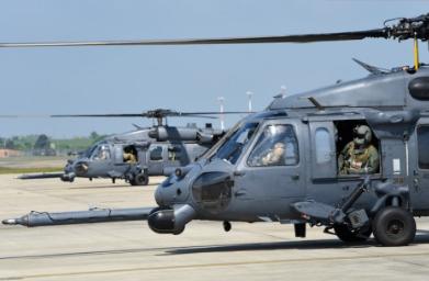 Lakenheath Bids Farewell to Rescue Squadrons