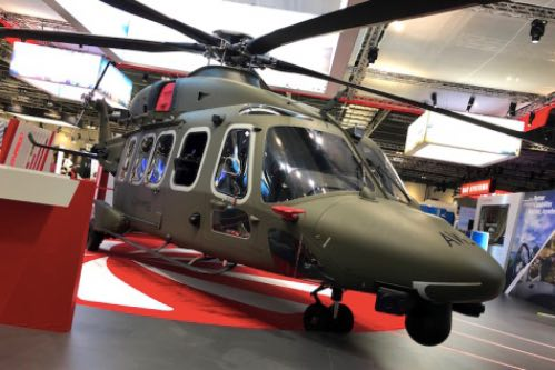Leonardo Puts Forward Its AW149 for the Latest/Future Generation Tactical Troop Helicopter Requirements at DSEI 2019