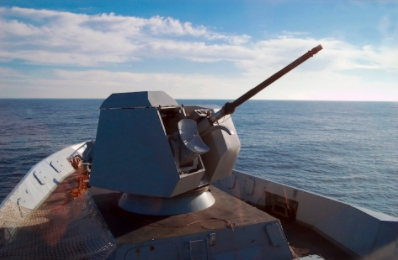 Leonardo's OTO 76/62 SR Naval Gun Successfully Completes Cyber Security Assessment