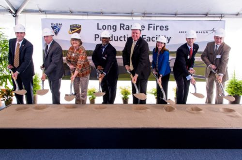 Lockheed Martin Begins Expansion In Arkansas, Breaks Ground On New Production Facility