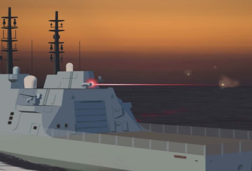 MOD £130m Investment into Lasers