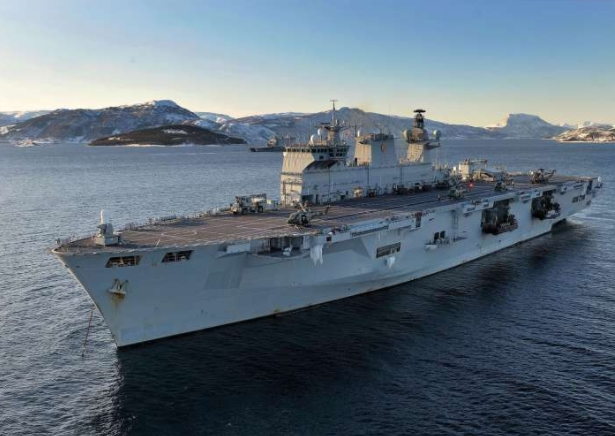 Minister Confirms HMS Ocean to be Scrapped