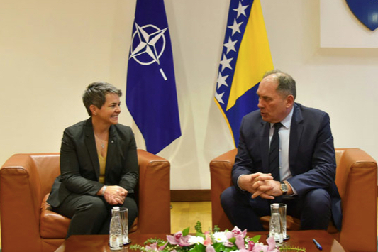 NATO and Bosnia and Herzegovina Sign Agreement on Protection of Classified Information
