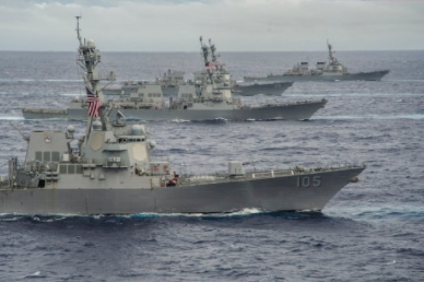 Naval Surface Forces Assessing If Ships Ready for Sea