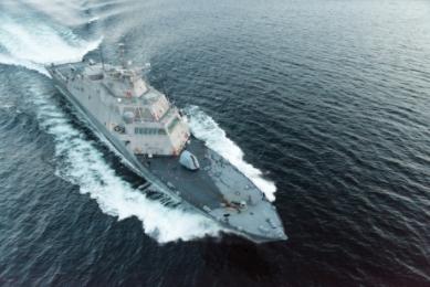 Lockheed Martin and Fincantieri Marinette Marine Deliver Future USS Little Rock to U.S. Navy