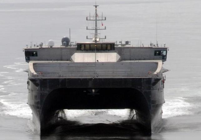 Navy to Christen Expeditionary Fast Transport Burlington