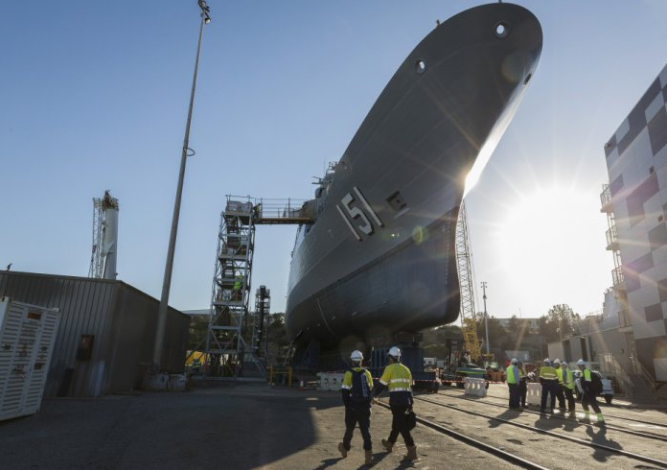 New Shipyard Tower to Increase Productivity