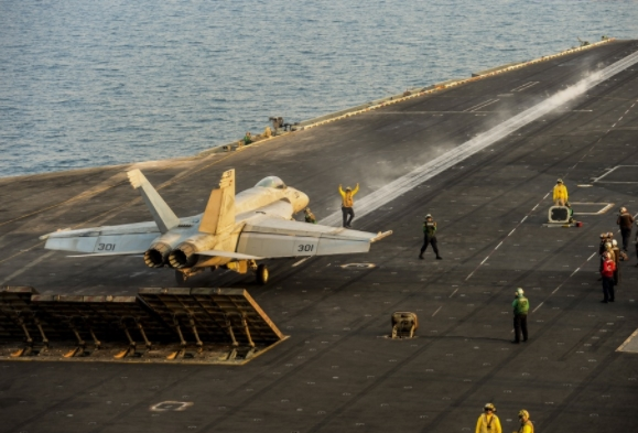Nimitz Plays Vital Role in Operation Inherent Resolve