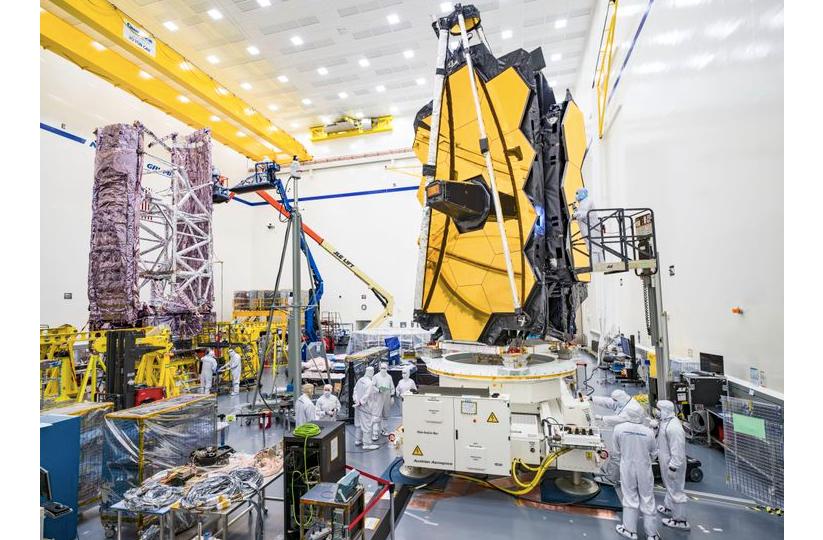 Northrop Grumman Completes Next Critical Launch Milestones of NASA's James Webb Space Telescope Spacecraft
