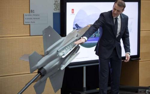 Orders Received in Total Worth 2 Billion NOK for Deliveries to F-35 Joint Strike Fighter